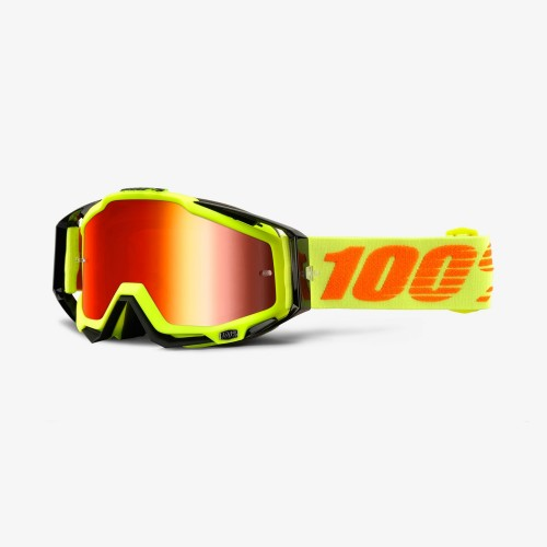 GAFAS 100% RACECRAFT ATTACK YELLOW