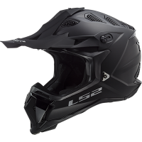 CASCO LS2 MX470 SOLID NEGRO