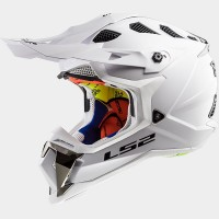 CASCO LS2 MX470 SOLID BLANCO
