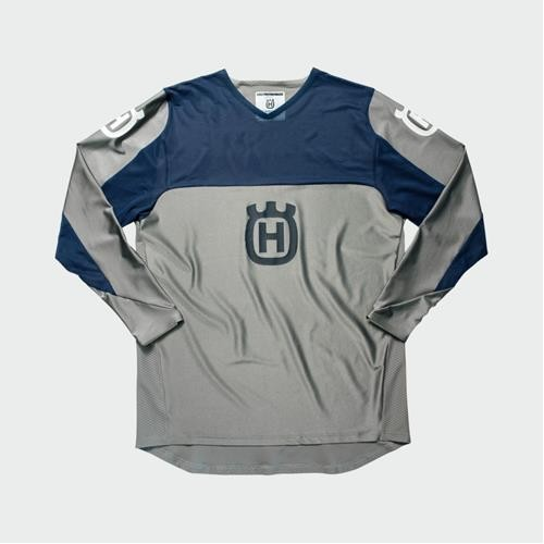 CAMISETA HUSQVARNA RAILED GREY