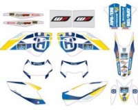 KIT ADHESIVOS HUSQVARNA FACTORY ENDURO